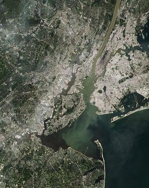 Satellite Eye on Earth: New York's Hudson River