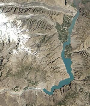 Satellite Eye on Earth: Pakistan's Hunza Valley