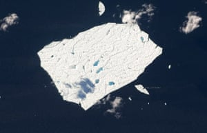 Satellite Eye on Earth: Petermann Ice Island is drifting off the shores of Newfoundland, Canada