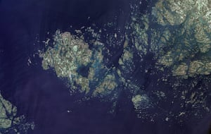 Satellite Eye on Earth: The Åland Islands (also known as the Aaland Islands)