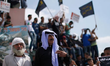 Bedouins protest in Israel's southern region Negev