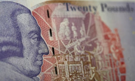 Adam Smith on a £20 note
