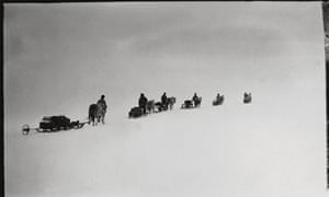 Captain Scott photograph, Antarctic