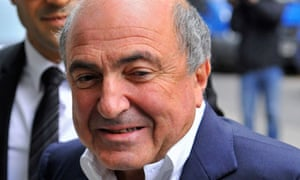 Exiled Russian oligarch Boris Berezovsky