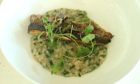 Worst menu ever: curried sardine on porridge