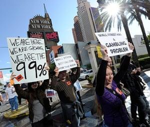 Wall Street Protests: Wall Street Protests Spread To Las Vegas