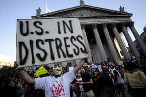 Wall Street Protests: Occupy Wall Street protestors in New York