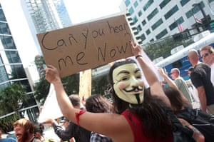 Wall Street Protests: Occupy Wall Street Protests, Tampa, Florida