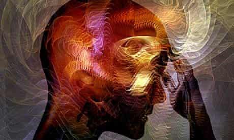 Colourful brain image