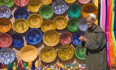 Shop in Taourirt Kasbah Ouarzazate Morocco