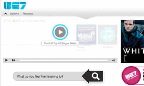 We7 music streaming service