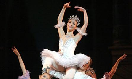 cindarella at the ballet