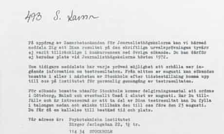 Stieg Larsson - original letter of rejection.jpg
