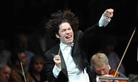 Gustavo Dudamel at the 2011 Proms