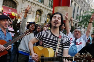 Week in music: Occupy Wall Street