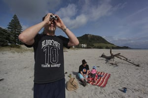New Zealand oil spill: Mount Maunganui in Tauranga, New Zealand