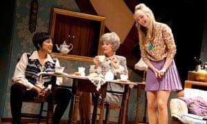 Meera Syal, Belinda Lang and Elizabeth Cadwallader star in The Killing of Sister George