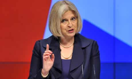 Theresa May at Tory conference