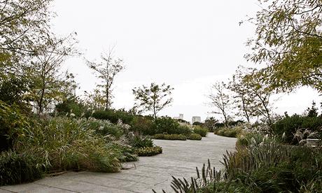 The hidden garden at 55 Water street, New York