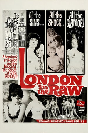 Film posters: Poster for the film London in the Raw