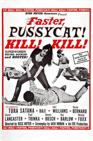Film posters: Poster for the film Faster Pussycat! Kill! Kill!