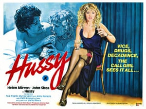Film posters: Poster for the film Hussy