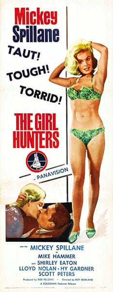 Film posters: Poster for the film The Girl Hunters