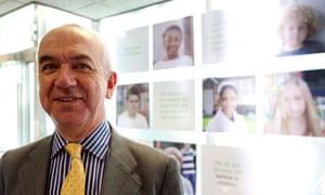 Martin Narey, government adoption adviser and former chief executive of Barnardos