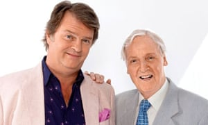 Just A Minute's Paul Merton and Nicholas Parsons