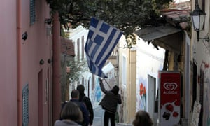 Greek flag Petros Giannakouris