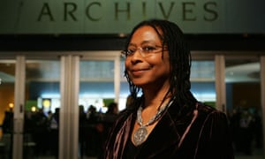 Alice Walker at the Hall of Fame