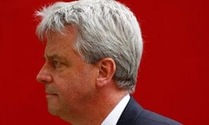 Britain's health secretary Andrew Lansley