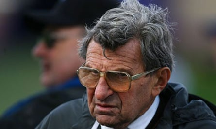 Joe Paterno, the Penn State coach fired along with the university's president, Graham Spanier