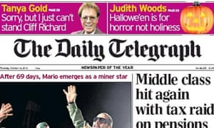 Daily Telegraph to raise cover price | Media | The Guardian