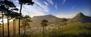 Seven wonders of nature: Table Mountain and Cape Town