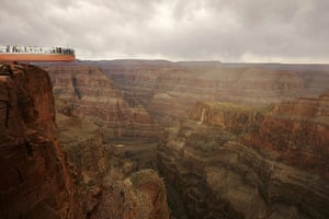 Seven wonders of nature: Grand Canyon's Skywalk