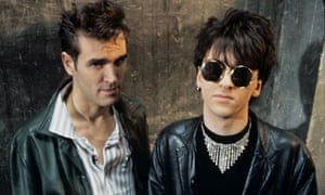 JOHNNY MARR AND MORRISSEY OF THE SMITHS - JUL 1984
