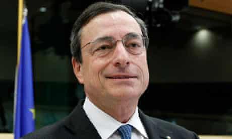 European central bank boss Mario Draghi