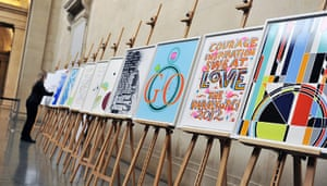 Seven Days on Stage: Olympic Posters for London 2012 by UK Artists Unveiled
