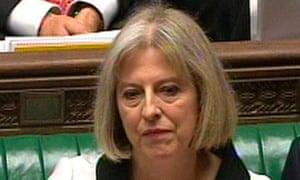 Theresa May at Prime Minister's Questions