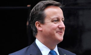 David Cameron said he wanted to see responsibility at the top as well as the bottom of society