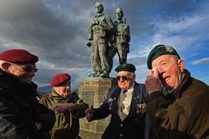 Armistice day update: Veterans attend Commando Memorial at Spean Bridge