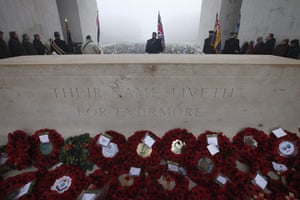 Armistice day update: Franco-British National Memorial in Thiepval, France