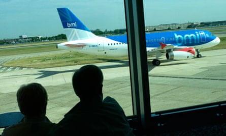 BMI plane at Heathrow