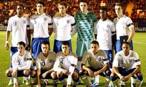England U21 team