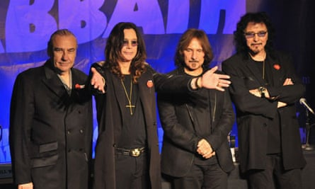 Black Sabbath reunion press conference