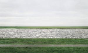 Andreas Gursky's Rhine II