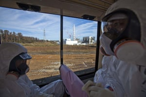 Inside Fukushima: View from the bus
