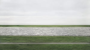 Expensive Photographs: Rhein II by Andreas Gursky