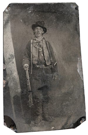 Expensive Photographs: Billy the Kid photograph